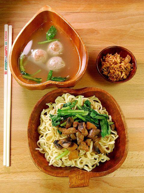 Mie ayam jamur 3 by bundaagnes, via Flickr