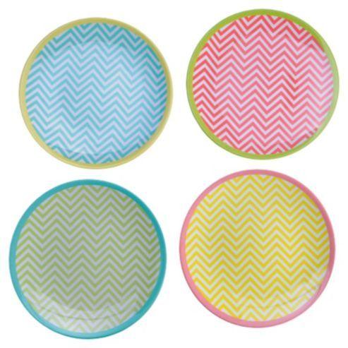 Melamine Plates Chevron  sc 1 st  Pinterest & Melamine Plates Chevron | Outdoor Living | Pinterest | Picnic plates ...