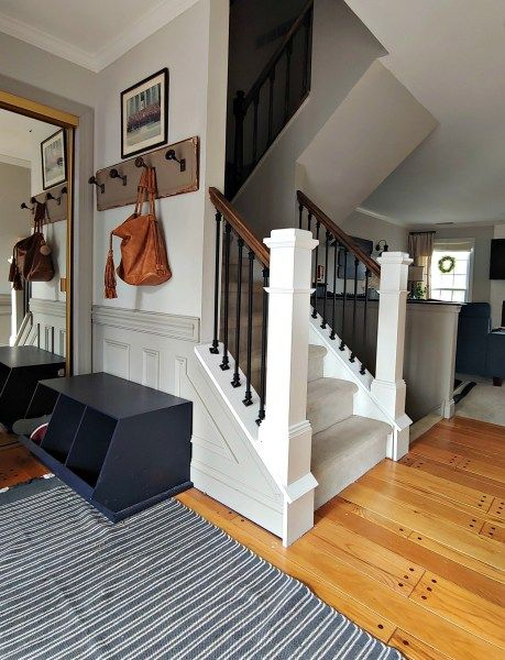 DIY Stair Railing Makeover - The Painted Home by Denise Sabia