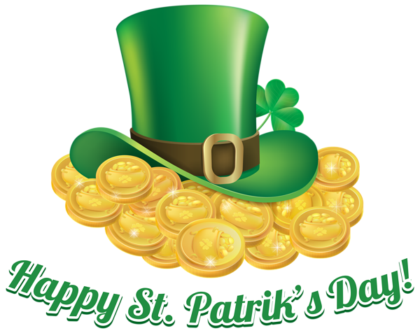St Patricks Day Coins And Hat Transparent Png Clip Art Image Saint Patricks Day Art St Patricks Day Wallpaper St Patrick S Day Crafts