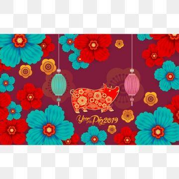 Pigpatterncloudlanternnewyearflower also pigpatterncloudlanternnewyearflowervectorjapanoriental rh pinterest