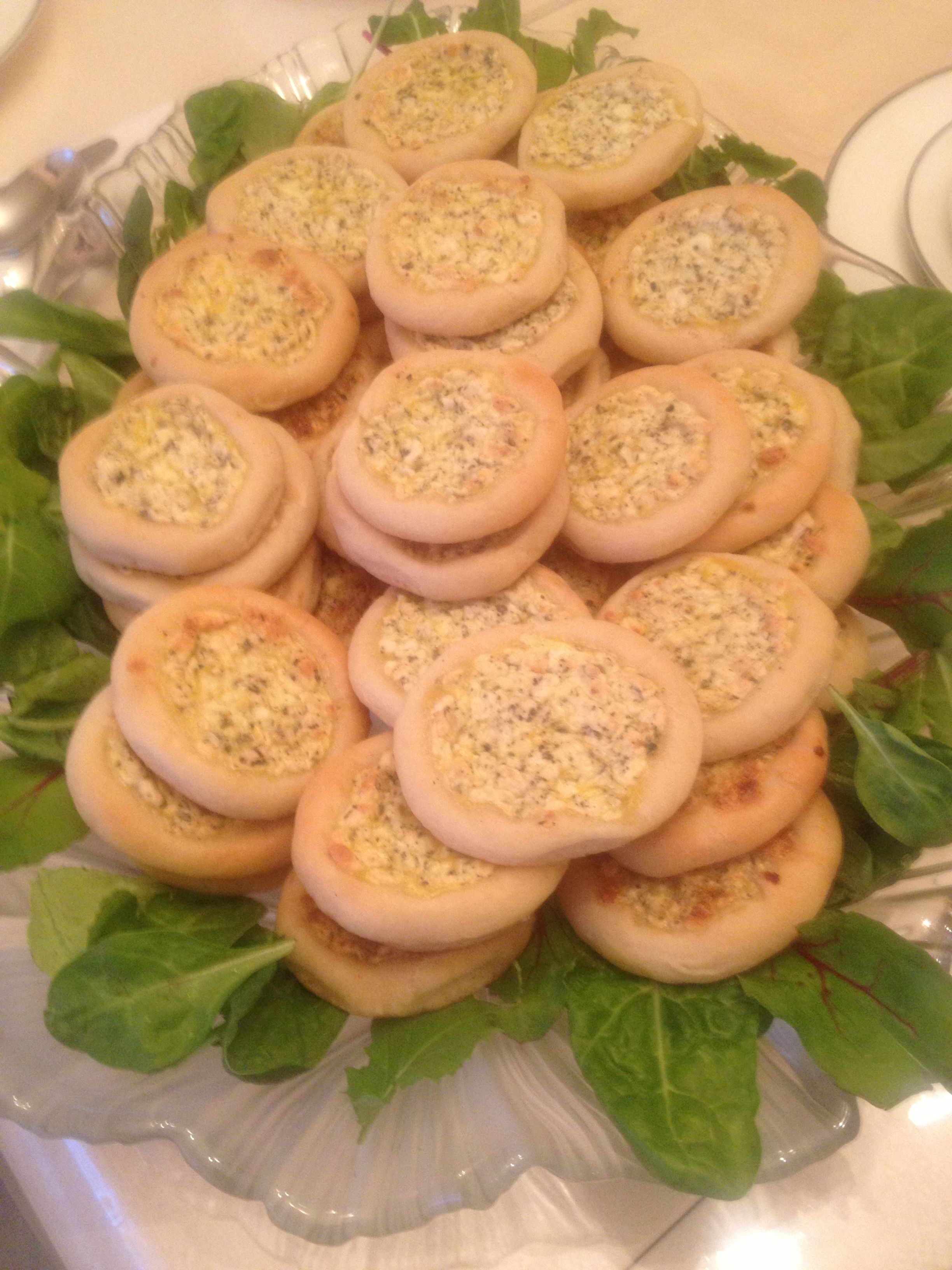 Oregano And Arabic Cheese Fatayer Jordanian Food Food Desserts