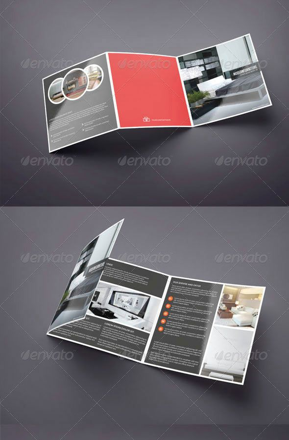 25 Top Notch Psd Tri-Fold Brochure Templates For Business