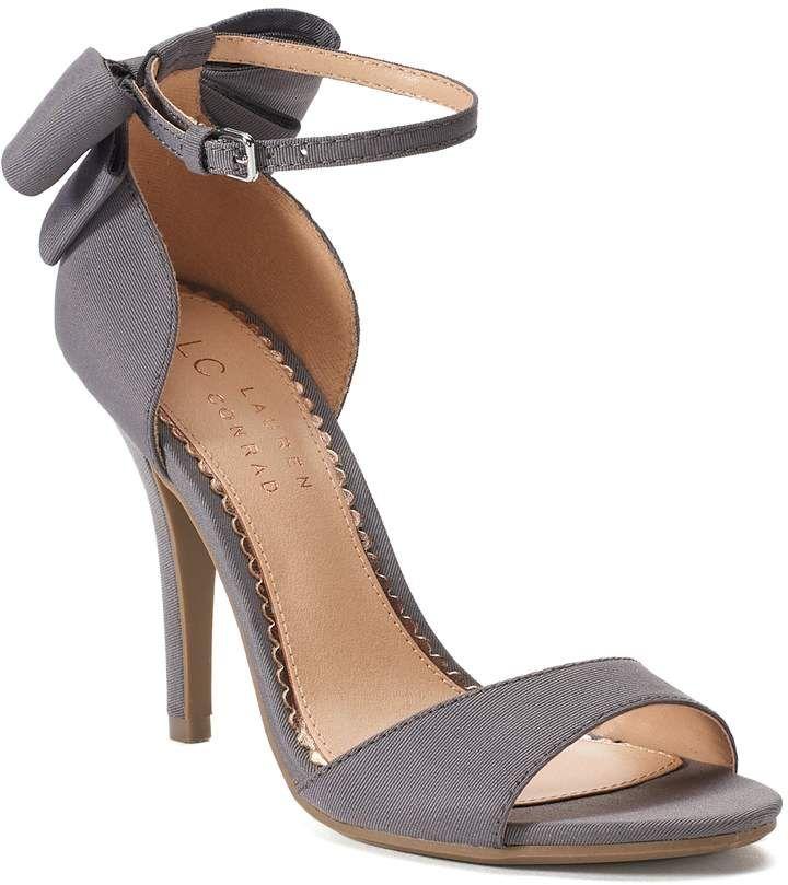 Lauren Conrad Snapdragon Womens Black High Heels | Black