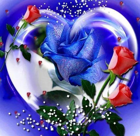 Corazones Azules Con Frases De Amor 33745 Interiordesign