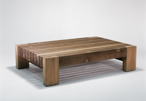 Ranch Outdoor Coffee Table Materials Solid Douglas Fir With Sulfur Green Finish Dimensions 60l X 42d 14 5h