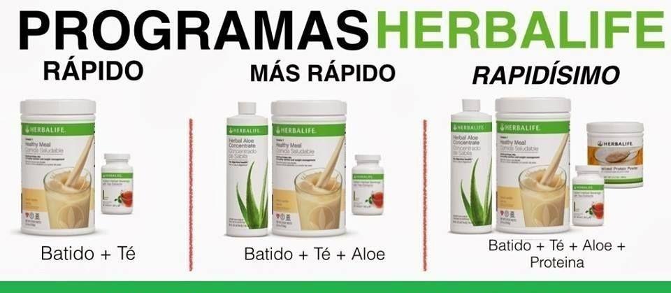 Productos de herbalife para bajar de peso rapido