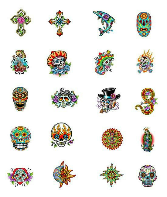 Small Mexican tattoos | Day of the dead | Mexican tattoo, Tattoo ...