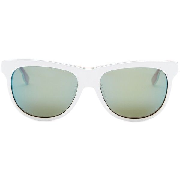 2fab4e4490 Diesel Women s Wayfarer Sunglasses ( 41) ❤ liked on Polyvore featuring  accessories