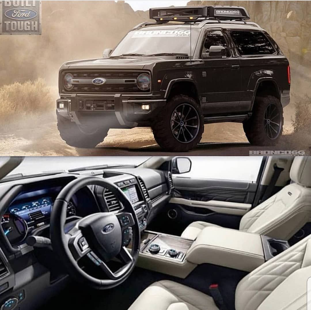 Spy Shot Photos Show Prototype Of The 2020 Ford Bronco According