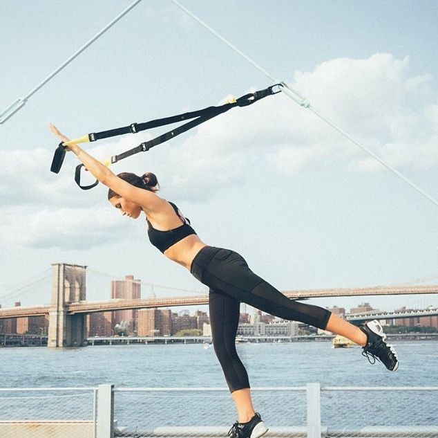 Core Workouts: 15-Minute Fitness with Basheerah Ahmad and TRX ...