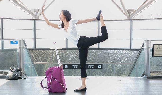 Crop | Travel Yoga Pants