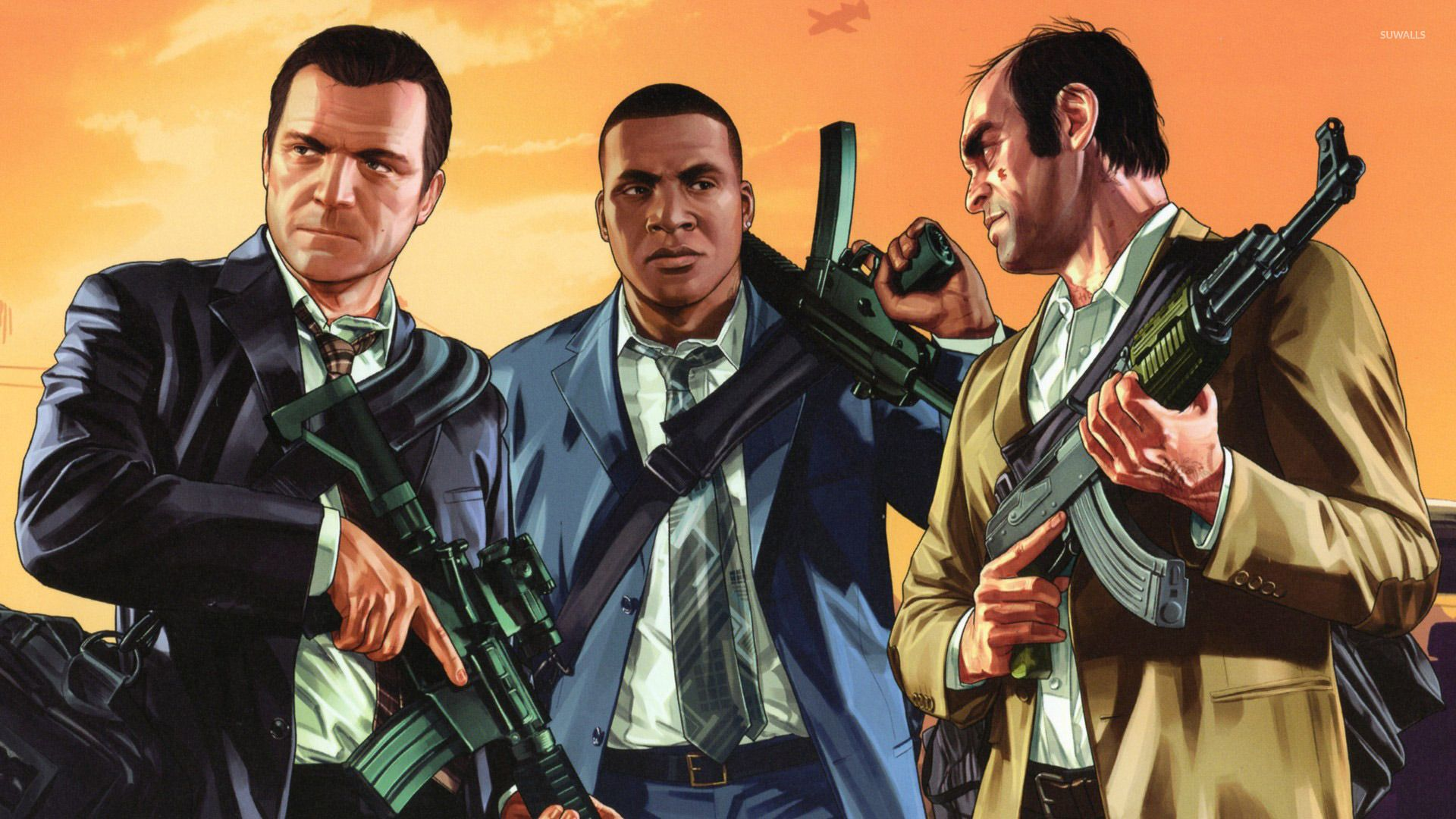 GTA V Wallpaper HD Grand theft auto, Gta, Rockstar games