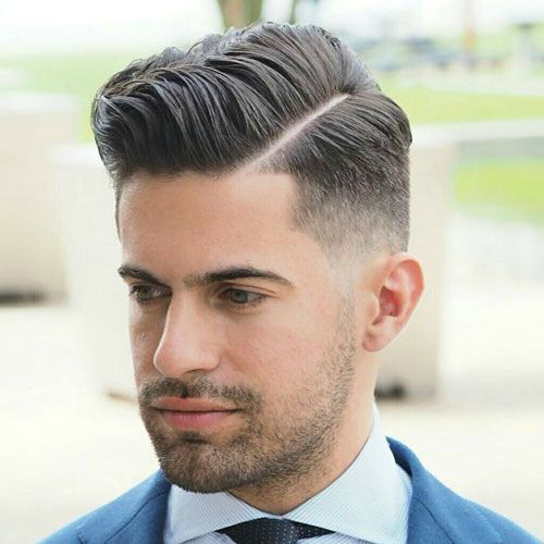 30 Low Maintenance Haircuts for Men | Mid fade, Side part ...