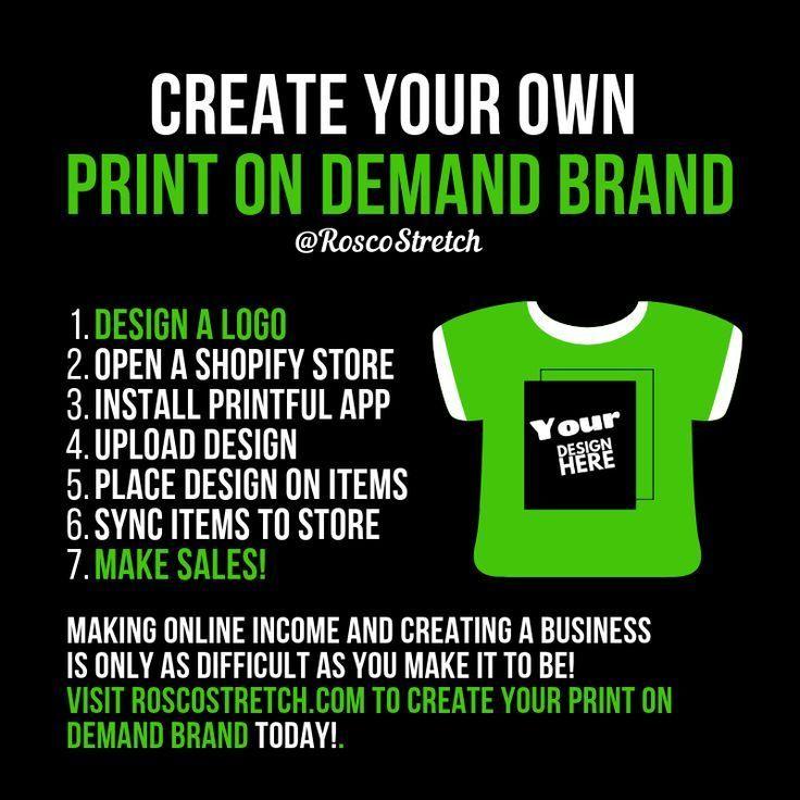 Print on Demand A LowRisk Way to Sell Custom TShirts