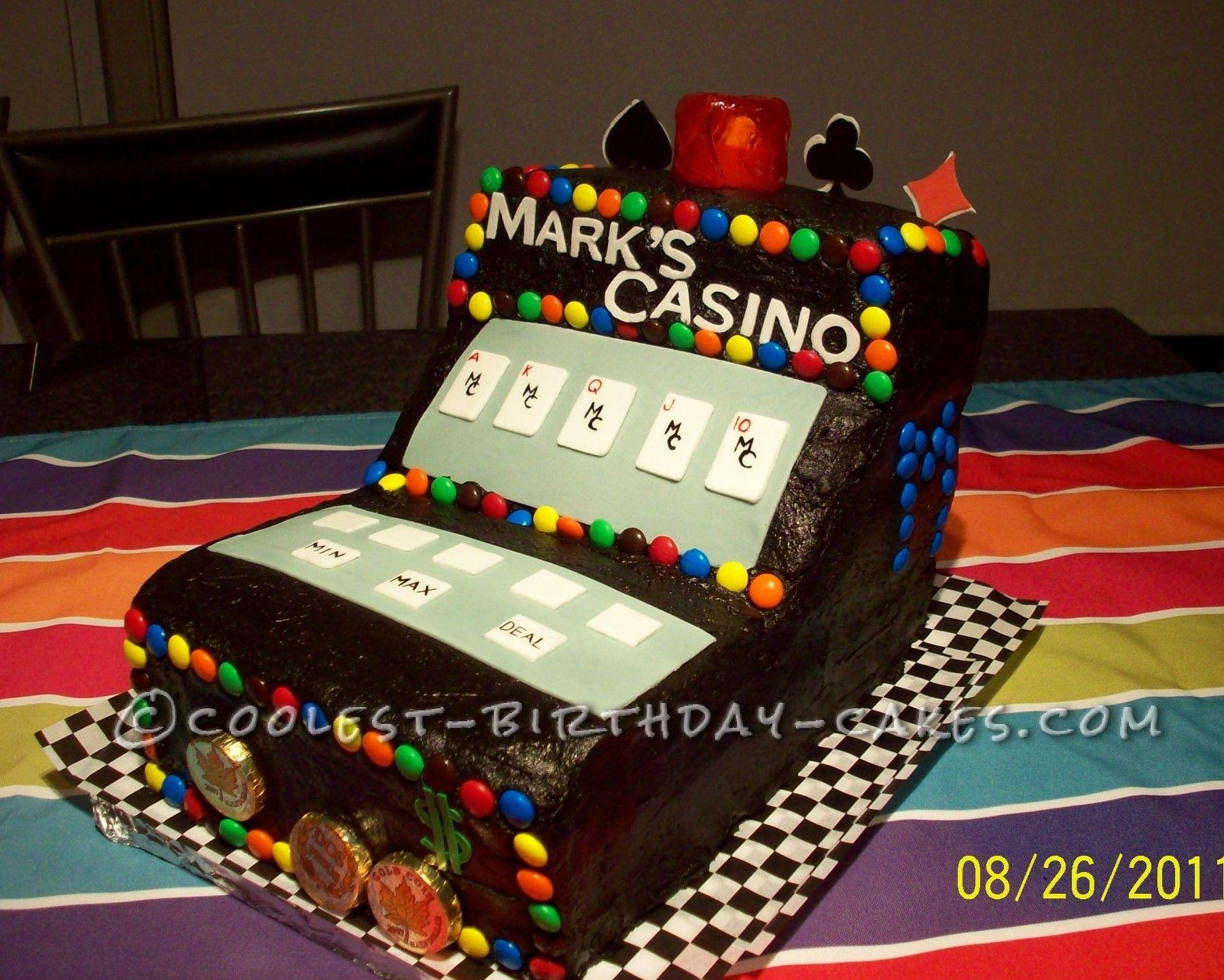Coolest casino video poker cake poker cake cool