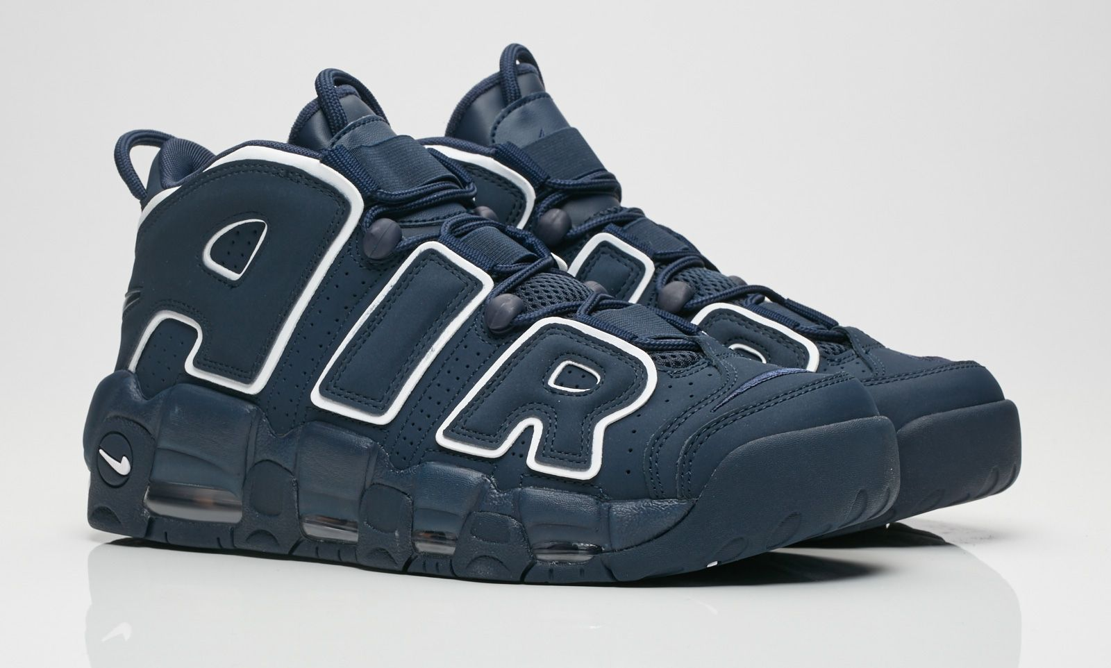 new style 3a3a4 ab5bd Look Out For The Nike Air More Uptempo Obsidian (Volcanic)
