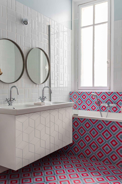 Edouard Fournier - GCG ARCHITECTES | Bathrooms | Pinterest | Red ...