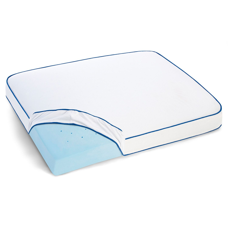 Serta Total Support Side Sleeper Gel Memory Foam Pillow Memory Foam Pillow Foam Pillows Gel Memory Foam