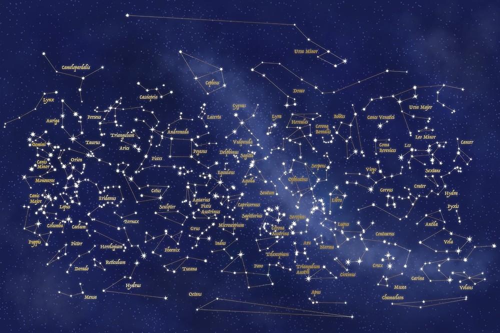 Mapa Del Cielo Nocturno Hoy.Mapa Del Cielo Nocturno De Gatto Viola Designs By Alessandra Ragusa Redbubble ในป 2020