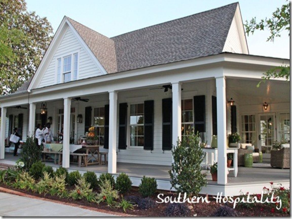 Country House Plans With Porches Southern Living House