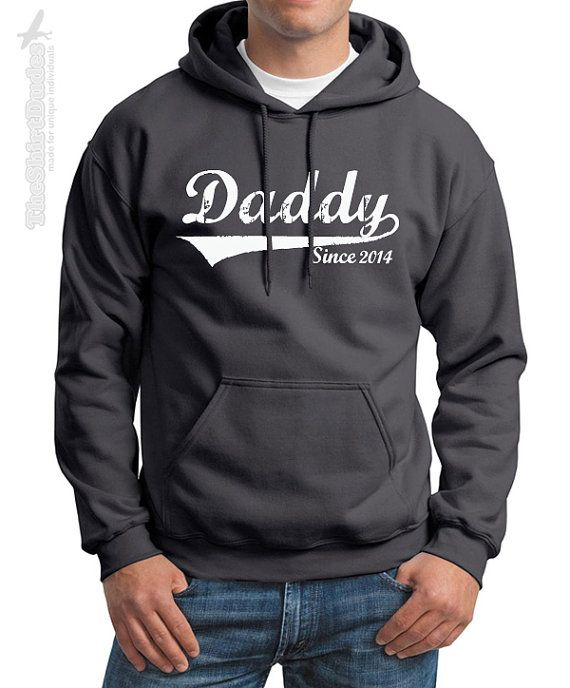 b99914f1d4e9c DADDY Since (ANY YEAR) vintage - crewneck or hoodie sweatshirt ...