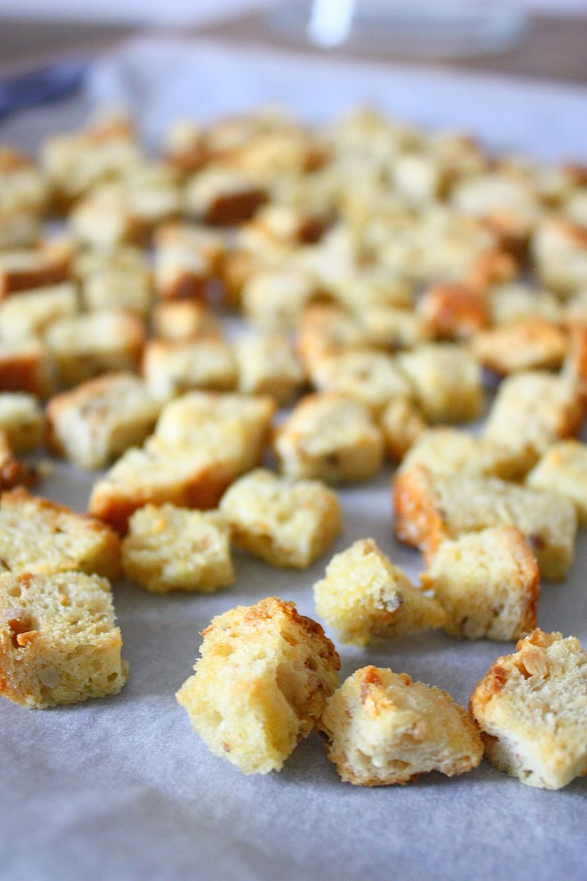 Knoflook Croutons Recepten Eten En Drinken En Bijgerechten Soep