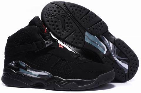Air Jordan 8 Retro Ls All Black