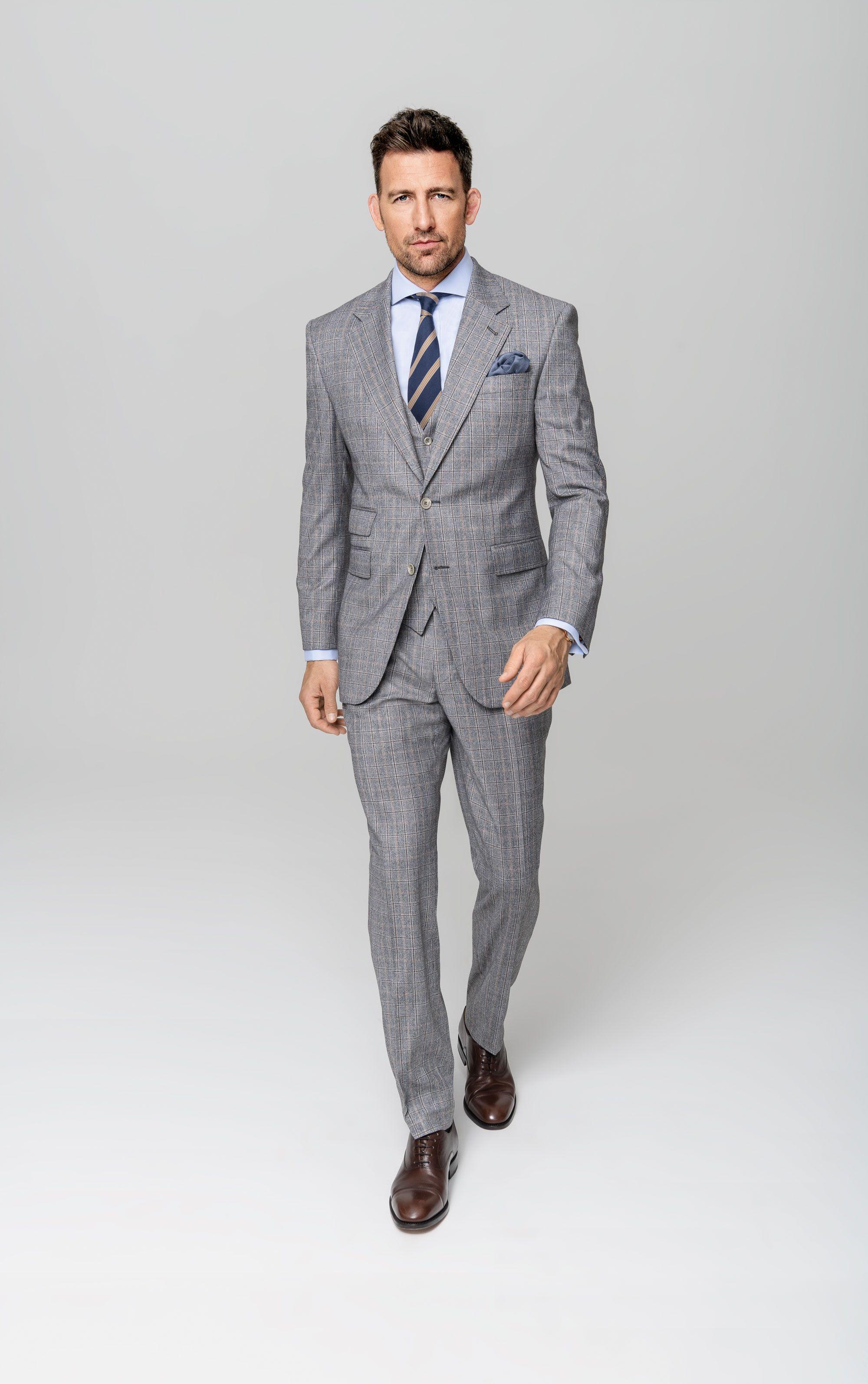 Fancy Shades of Grey – Business Dreiteiler nach Maß in