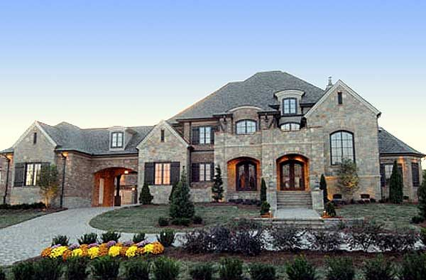 plan 67115gl french country estate home plan - Luxury Home Designs Plans