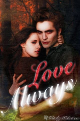 Bella And Edward Love Always Iphone Wallpaper By Witchywebstress On Deviantart Art Wallpaper Iphone Iphone Wallpaper Art Wallpaper