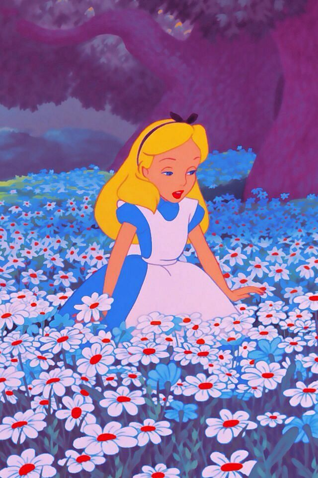 Disney Alice In Wonderland Iphone Wallpaper