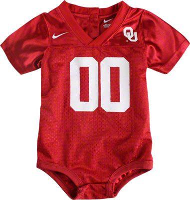 size 40 19498 ae521 Oklahoma Sooners Nike Infant Football Jersey #oklahoma ...