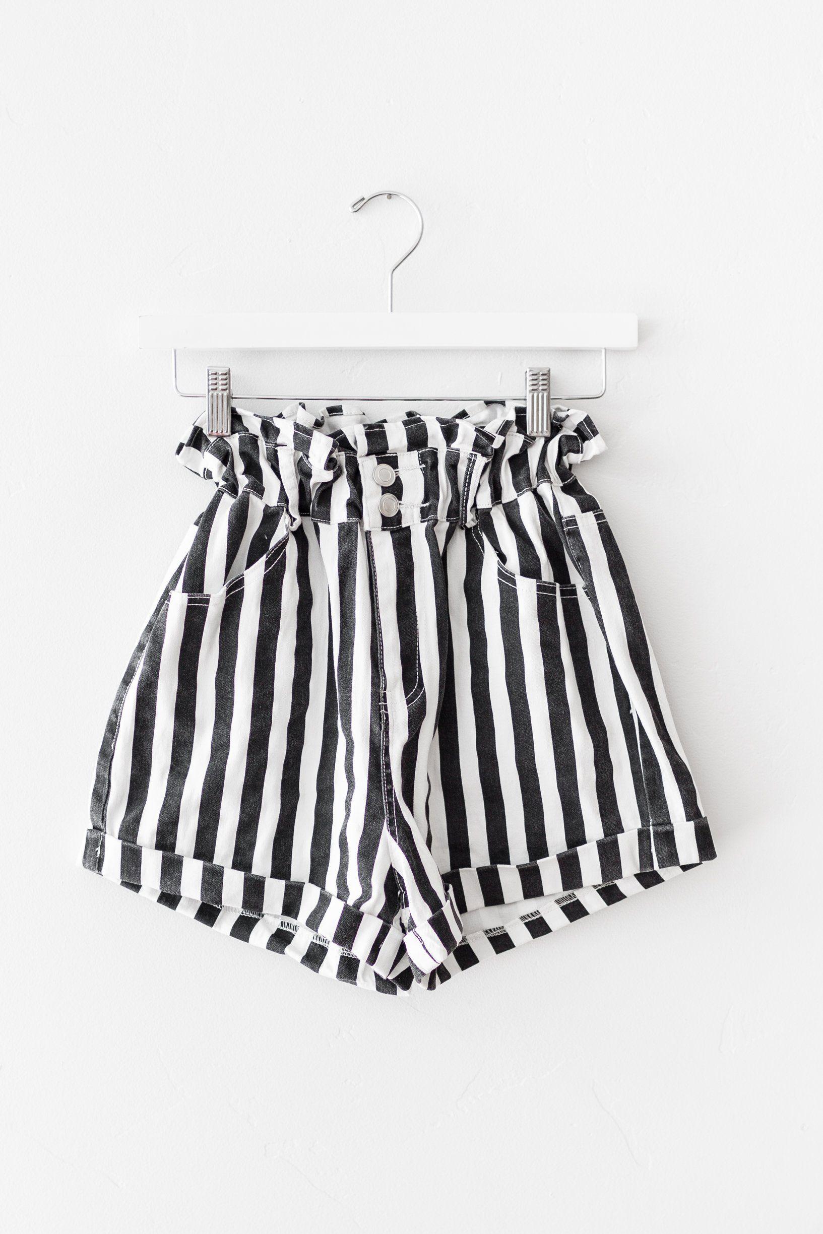 bcc8e9e08204 Break on Through Striped Shorts