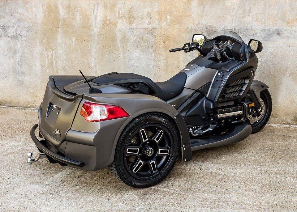 Honda F6B Trike motorcycle, Three wheel motorcycles