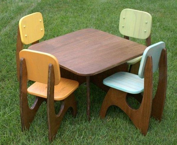 2824 Kindermöbel Holz