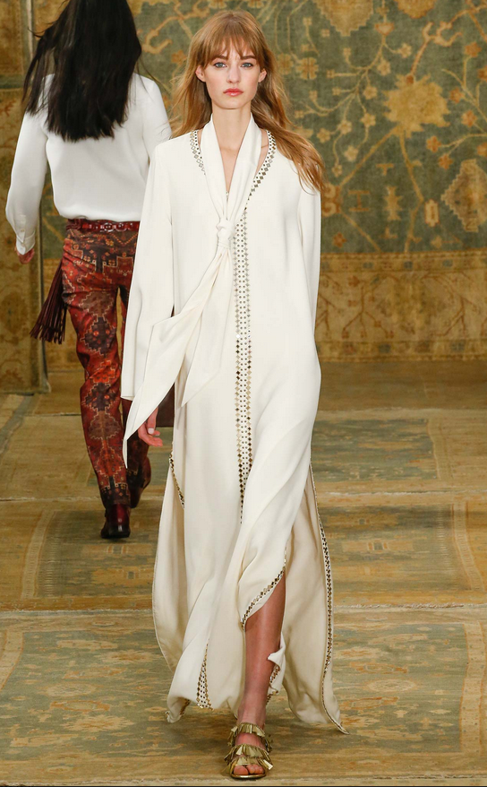 Tory Burch Fall 2015  Killed it with this look
