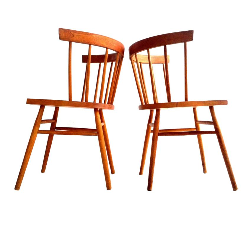 "Design-is-fine: "" George Nakashima, Straight-back Chair"