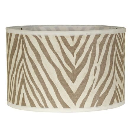 Zebra Print Lampshade With Images Painting Lamp Shades
