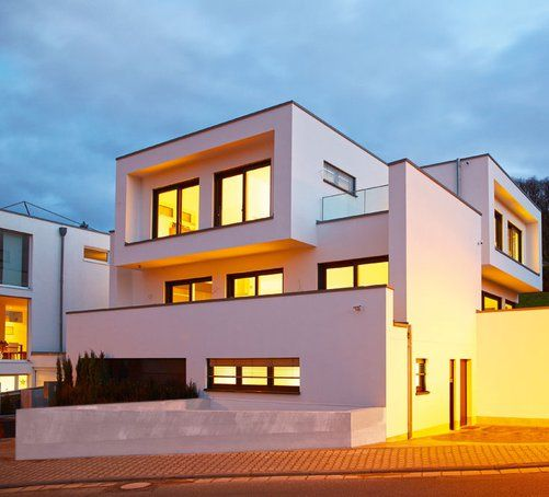 Bauhaus Architektur großer wurf moderne bauhaus architektur okal haus bau