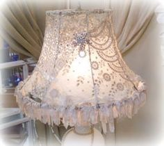 Diy Shabby Chic Lamp Shade Google Search Shabby Chic Lamp