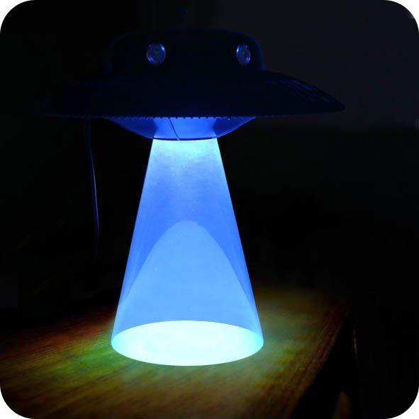 Alien Abduction Lamp - UFO Lamp