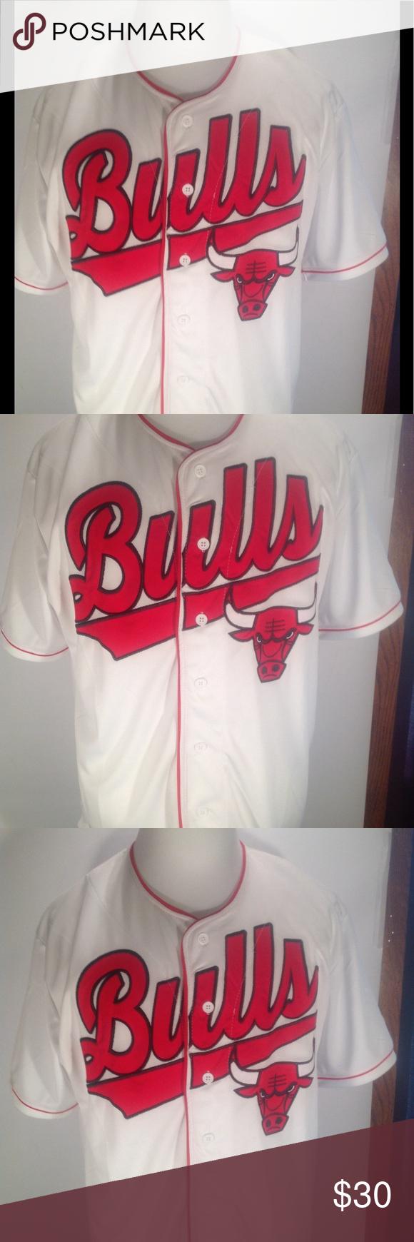 d669aca6d571c ... ireland chicago bulls button down jersey style shirt nwt brand new chicago  bulls button up jersey