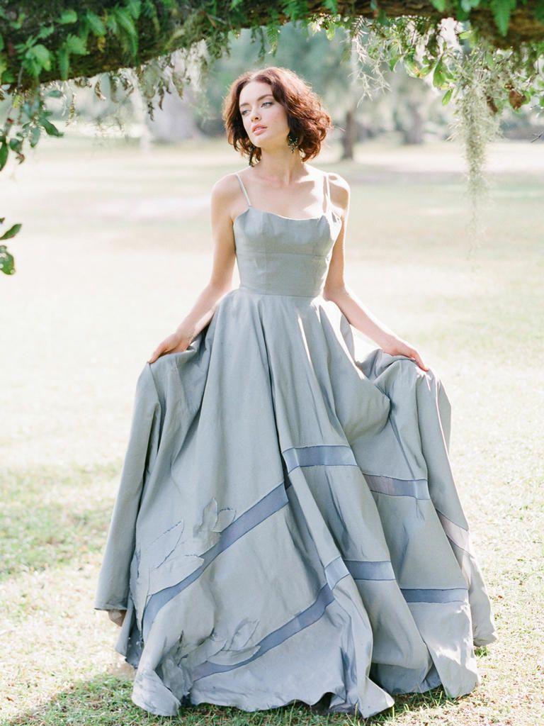 20 Dreamy Blue Wedding Dresses | Fotos artisticas