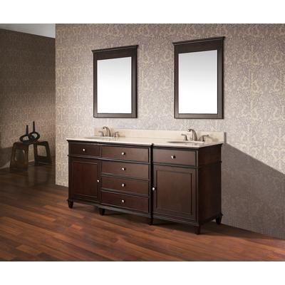 Avanity Windsor 60 Inch Vanity With Black Granite Top And Dual