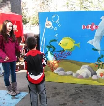 Carnival fish pond ptso school ideas pinterest for Koi pond game