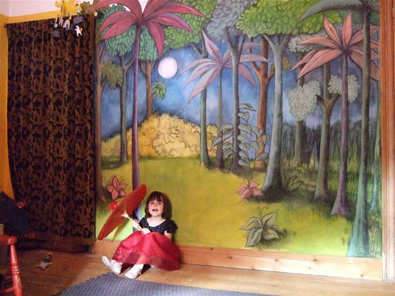 Where The Wild Things Are Wall Mural Gallery home design wall stickers