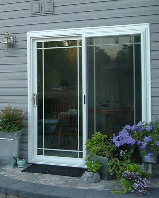 Pin By Clare Hemphill On Sun Room Dining Room Craftsman Style Front Doors Sliding Glass Door Sliding Screen Doors
