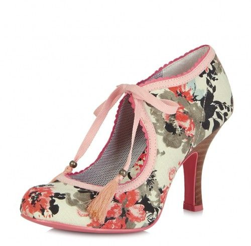 Willow by Ruby Shoo are colourful and stylish summer shoes. These women s  high heel shoes 0b5be7475d