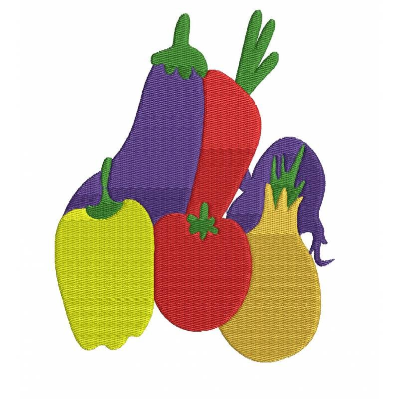 Vegetable Embroidery Design Embroidery Patterns I Have